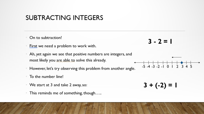 Add and Sub Integers 10