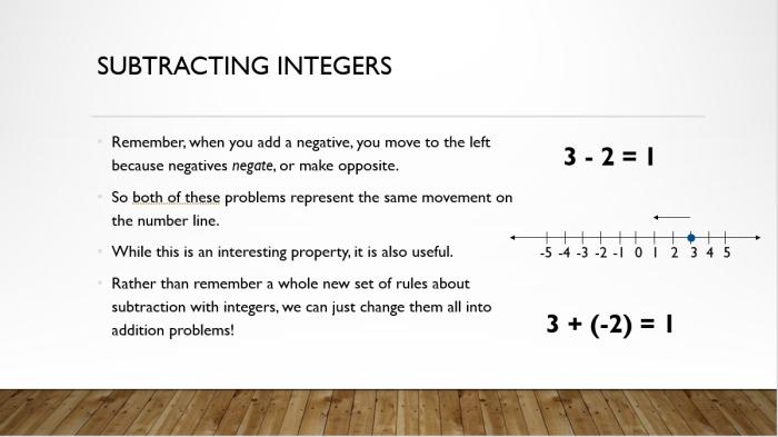 Add and Sub Integers 11