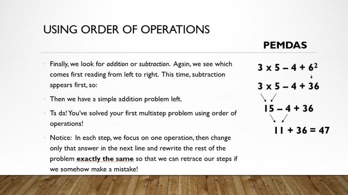 Order 7