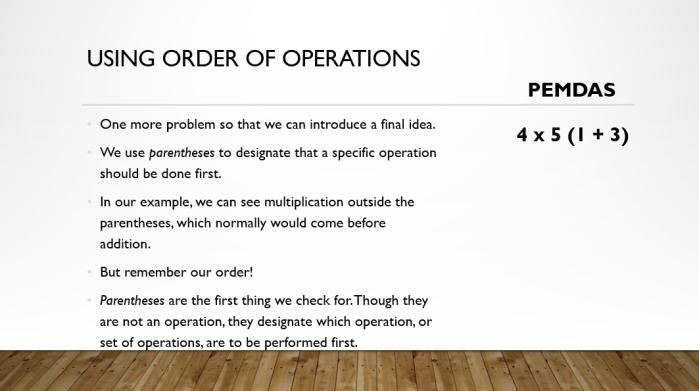 Order 8